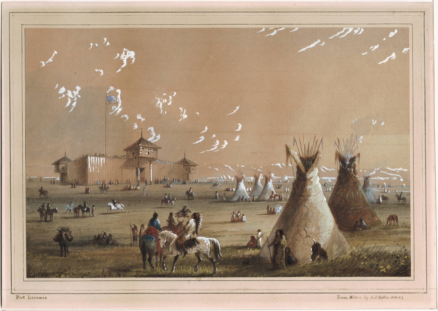 Treaty of Fort Laramie: The beginning of the end for tribes of the ...